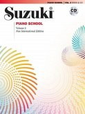 Suzuki Piano School, New International Edition, w. Audio-CD