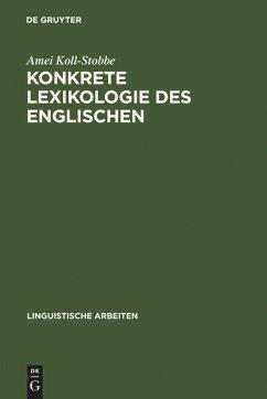 Konkrete Lexikologie des Englischen