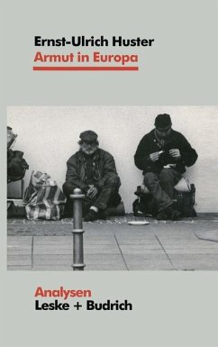 Armut in Europa - Huster, Ernst-Ulrich