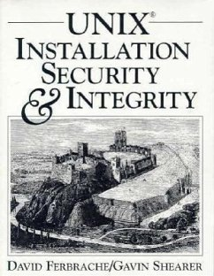 Unix Installation Security and Integrity - Ferbrache, David; Shearer, Gavin