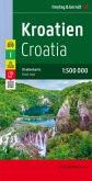 Freytag & Berndt Autokarte Kroatien; Hrvatska; Kroatie; Croatia; Croatie; Croazia