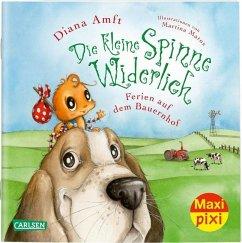 Die kleine Spinne Widerlich: Ferien auf dem Bauernhof - Amft, Diana
