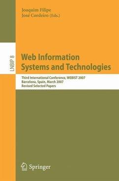 Web Information Systems and Technologies - Filipe, Joaquim / Cordeiro, J. (eds.)