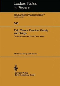 Field Theory, Quantum Gravity and Strings