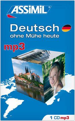 assimil deutsch ohne m he heute 1 mp3 cd h rb cher portofrei bei b. Black Bedroom Furniture Sets. Home Design Ideas