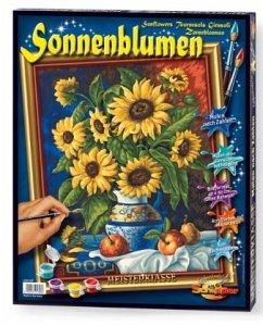 Stillleben mit Sonnenblumen / Meisterklasse Pre...
