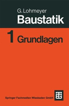 Baustatik - Lohmeyer, Gottfried C. O.