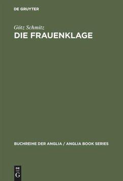 Die Frauenklage - Schmitz, Götz