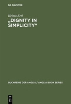 """""""Dignity in Simplicity"""""""