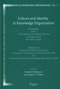 Culture and Identity in Knowledge Organization