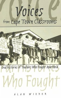 Voices from Cape Town Classrooms - Wieder, Alan