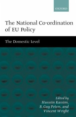 The National Co-ordination of EU Policy