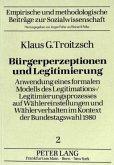 Bürgerperzeptionen und Legitimierung