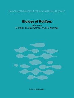 Biology of Rotifers: Proceedings of the Third International Rotifer Symposium Held at Uppsala, Sweden, August 30 - September 4, 1982 - Pejler, B. / Starkweather, R. / Nogrady, Th. (eds.)