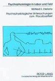 Psychophysiologische Untersuchungen zum Placeboeffekt