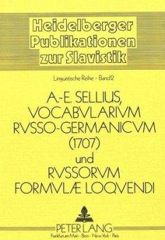 Vocabularium Russo-Germanicum und Russorum Formulae Loquendi 1707 - Panzer, Baldur