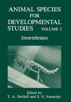 ANIMAL SPECIES FOR DEVELOPMENT - Dettlaff, T.A. / Vassetzky, Sergei G. (eds.)