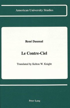 Le Contre-Ciel - Knight, Kelton W.; Central Washington University