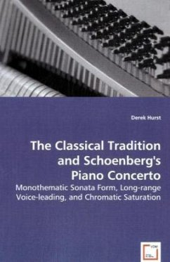 The Classical Tradition and Schoenberg's PianoConcerto