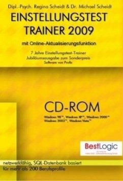 Einstellungstest-Trainer 2009, 1 CD-ROM