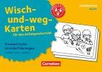 Wisch-und-weg-Karten für den Anfangsunterricht - Mathematik