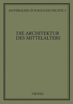 Die Architektur des Mittelalters