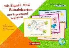Mit Signal- und Ritualekarten den Tagesablauf b...