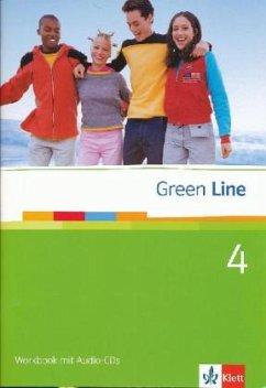 Green Line 4. Workbook mit Audio CD - Horner, Marion