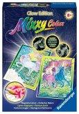 Ravensburger 29132 - Mixxy Colors, Glow Edition, Eindrucksvolle Einhörner