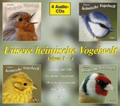Unsere heimische Vogelwelt, 4 Audio-CDs