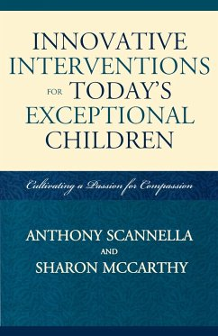 Innovative Interventions for Today's Exceptional Children - Scannella, Anthony; Mccarthy, Sharon