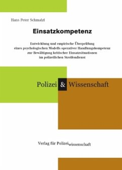 Einsatzkompetenz - Schmalzl, Hans Peter