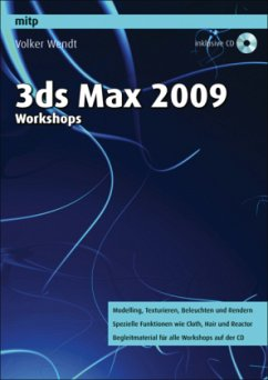 3ds max 2009 Workshops, m. CD-ROM - Wendt, Volker