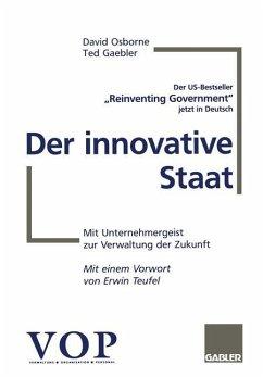 Der innovative Staat - Osborne, David; Gaebler, Tom
