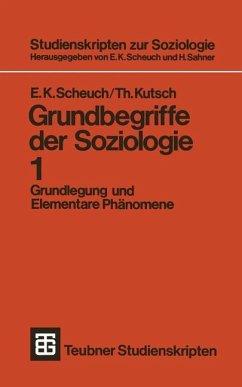 Grundbegriffe der Soziologie