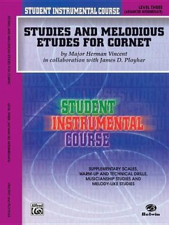 Student Instrumental Course Studies and Melodious Etudes for Cornet: Level III