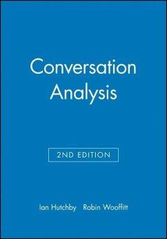 Conversation Analysis - Hutchby, Ian; Wooffitt, Robin