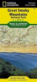 National Geographic Trails Illustrated Map Great Smoky Mountains National Park, Tennessee / North Carolina, USA