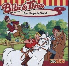 Der fliegende Sattel / Bibi & Tina Bd.9 (1 Audi...