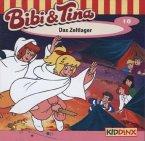 Das Zeltlager / Bibi & Tina Bd.10 (1 Audio-CD)