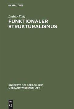 Funktionaler Strukturalismus