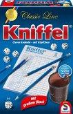 Schmidt 49203 - Kniffel Classic Line, mit großen Würfeln und Block