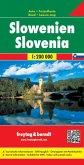 Freytag & Berndt Autokarte Slowenien; Slovenia / Slovenija / Slovènie