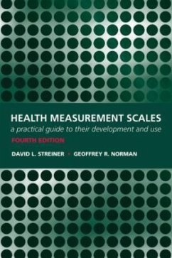 Health Measurement Scales - Streiner, David L.; Norman, Geoffrey R.