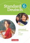 Standard Deutsch 6. Schuljahr. Arbeitsheft mit Lösungen. Grundausgabe