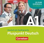 1 Audio-CD (Lektion 8-14) / Pluspunkt Deutsch, Ausgabe 2009 Bd.A1/2