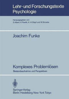Komplexes Problemlösen - Funke, Joachim