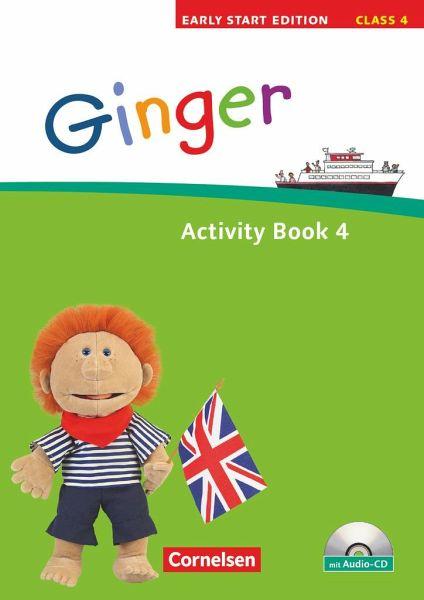 ginger early start edition 4 activity book mit lieder