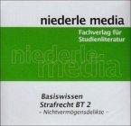Basiswissen Strafrecht BT 2 - Nichtvermögensdelikte, Audio-CD