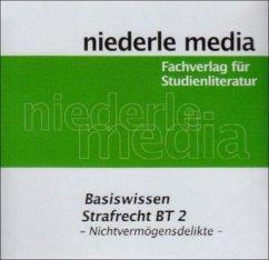 Basiswissen Strafrecht BT 2 - Nichtvermögensdelikte, Audio-CD - Heinze, Florian